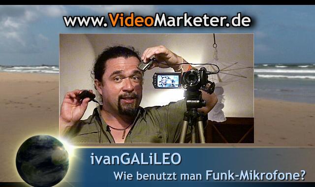 funkmikrofon videomarketing preview640x380 N24CC FunkMikrofon Lavalier Mikrofon VideoKamera